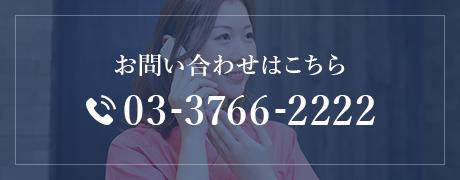 お問い合わせはこちら 03-3766-2222