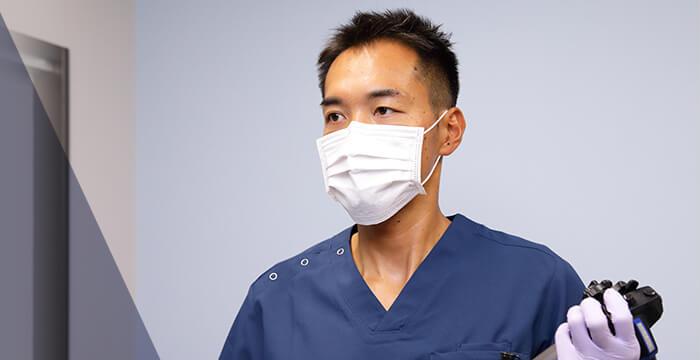 内視鏡検査・肛門手術の経験を豊富に積むことができる!